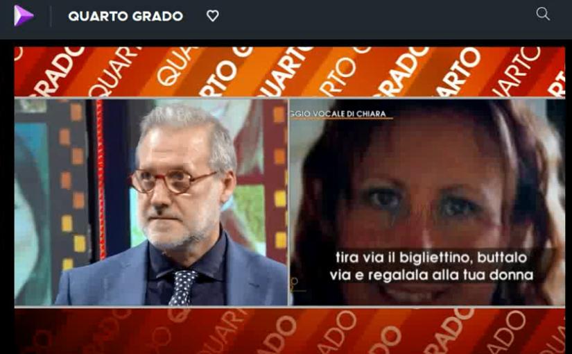 Omicidio di Gorlago: intervento a Quarto Grado del prof. Luciano Romito